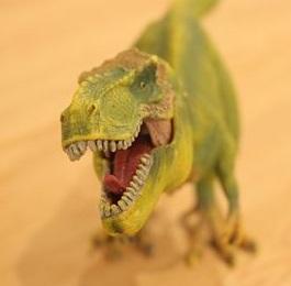 シュライヒのティラノサウルスがリアル!超リアルな恐竜フィギュアをレビュー