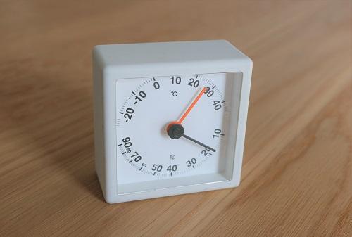 湿度計はおしゃれなプラスマイナスゼロのデザインがおすすめ