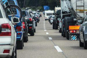 車のトイレ渋滞