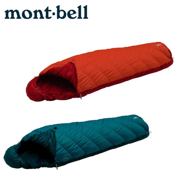 寝袋はモンベルのバロウバッグが快適