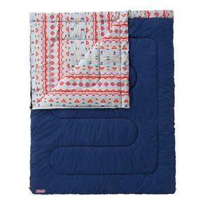 コールマンの寝袋、Adventure sleeping-bag C5