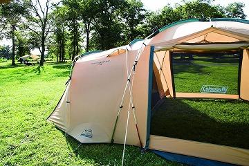 コールマンの人気のテント:タフスクリーン2ルームハウス