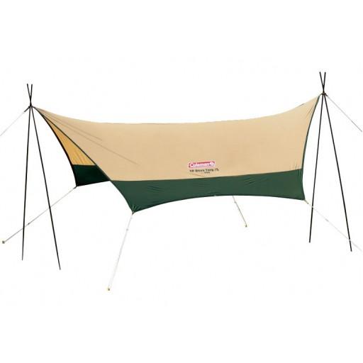 タープは雨の日キャンプの必需品