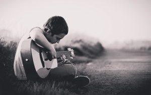 ギターの初心者