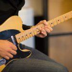 ギターでクランチ