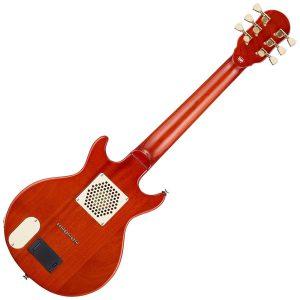 Woodsticsのミニギターの裏側