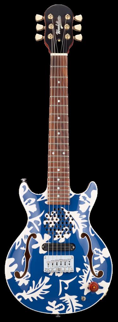 ken yokoyama おすすめのミニギターWoodstics Guitarsをプロデュース!