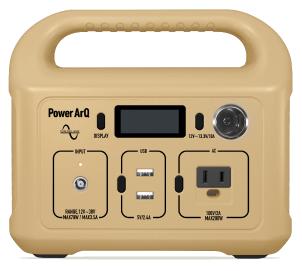 PowerArQ miniが出た!ポータブル電源はキャンプで活躍