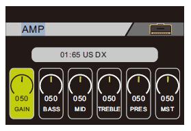 MOOER GE200のアンプで音質を変える