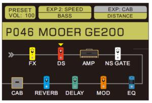 MOOER GE200エフェクター