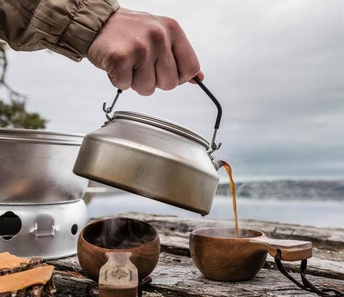 トランギアのケトルはキャンプでおすすめ!お湯を沸かすのに必須