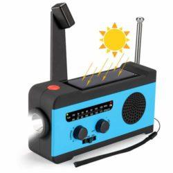 手回し 防災ラジオ
