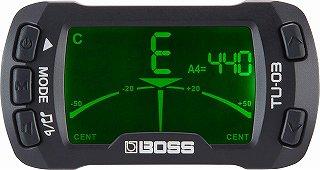 BOSS/TU-03 クリップチューナー&メトロノーム
