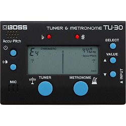BOSS / TU-30 クロマチックチューナー&メトロノーム