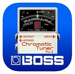 BOSS チューナーアプリ