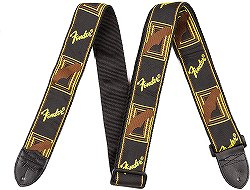 Fenderのロックなストラップ:Monogrammed Strap