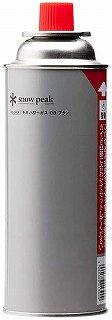 スノーピーク カセットコンロ ガス缶