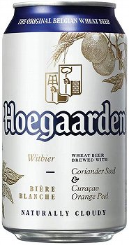 Hoegaarden White Can 330mlx24