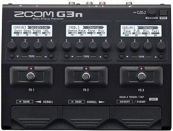 マルチエフェクター ZOOM G3n:ギター用