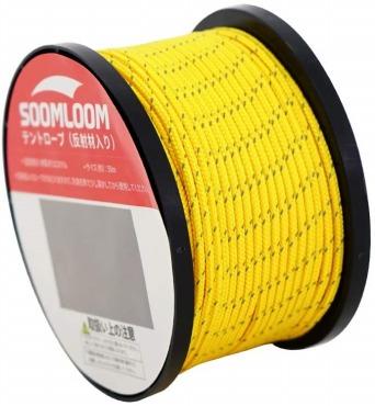 Soomloom テント用ロープ