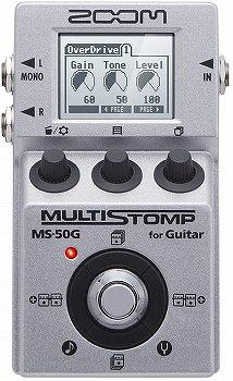 ZOOM MULTI STOMP マルチエフェクター MS-50G