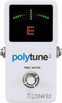 tc electronic ポリフォニック チューナー POLYTUNE3
