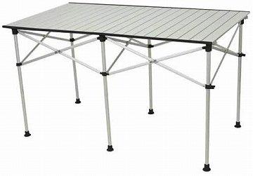 クイックキャンプ アルミロールテーブル