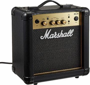 マーシャルの小型 ギターアンプコンボ:Marshall MG-Gold シリーズ MG10 GOLD